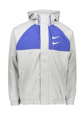 Nike Apparel Swoosh Sportswear Jacket - Grey