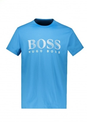 BOSS Bodywear T-Shirt RN 437 - Bright Blue