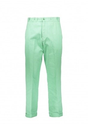 Tab Twills Trousers - Meadow