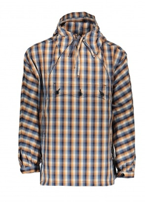 Monitaly Takenoko Anorak - Plaid