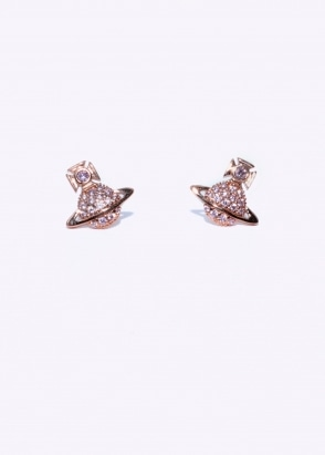 Vivienne Westwood Accessories Tamia Earrings - Pink Gold
