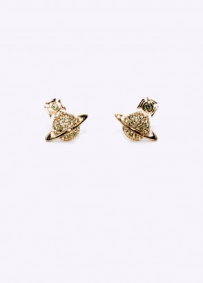 Vivienne Westwood Accessories Tamia Earrings - Yellow Gold