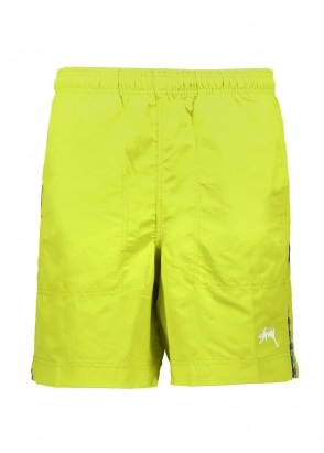 Stussy Taping Nylon Short - Lime