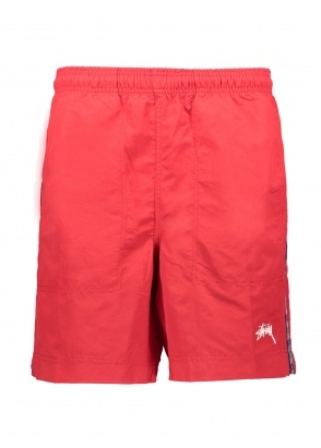 Stussy Taping Nylon Short - Red