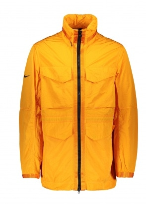 Nike Apparel Tech Jacket - Orange / Black
