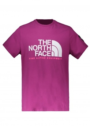 The North Face SS Fine Alpine Tee 2 - Wild Aster