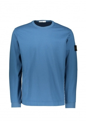 Stone Island Thin Sweat - Avio Blue