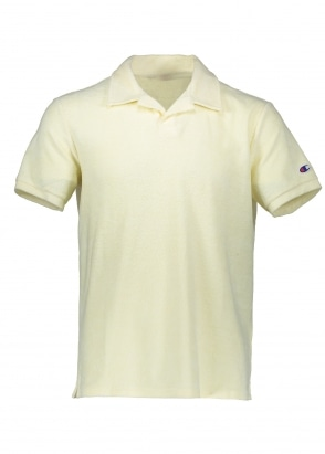 Champion Towelling Polo - Lemon