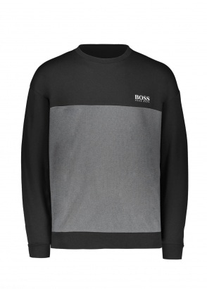 BOSS Bodywear Tracksuit Sweatshirt 001 - Black