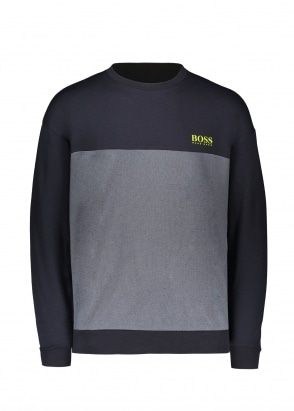 BOSS Bodywear Tracksuit Sweatshirt 400 - Blue