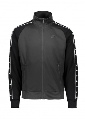 Nike Apparel Tracksuit Top - Black / White