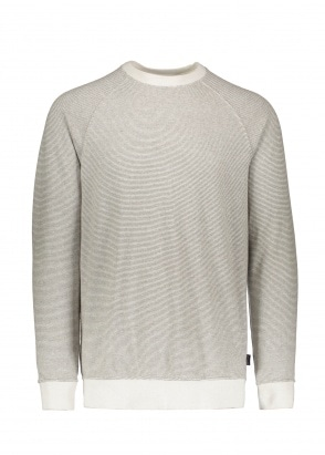 Patagonia Trail Harbor Crewneck Sweat - Dyno White