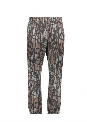 Stussy Tree Bark Sweatpant - Brown