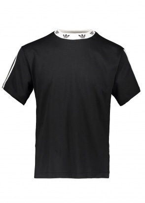 adidas Originals Apparel Trefoil Rib Tee - Black