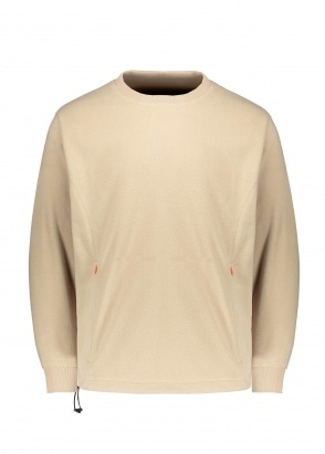 Uniform Bridge Utility Fleece LS Tee - Beige