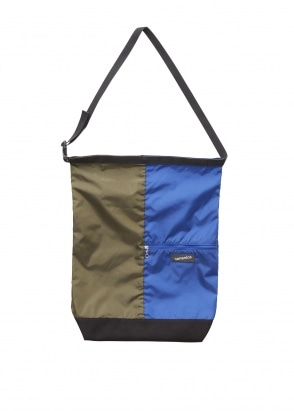 Nanamica Utility Shoulder Bag - Olive / Blue