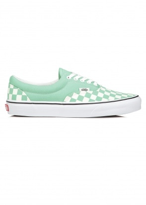 Vans Era Checkerboard - Neptune Green