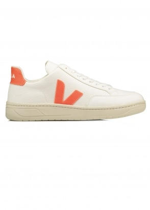 Veja V12 Chrome - White Orange