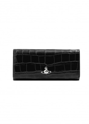 Vivienne Westwood Accessories Lisa Long Card Holder - Black