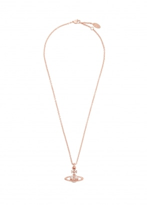Vivienne Westwood Accessories Mayfair Pendant - Pink Gold