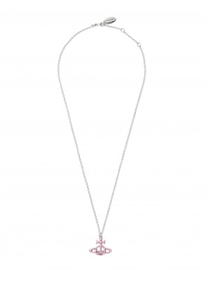 Vivienne Westwood Accessories Ornella Double Orb Pendant - Pink