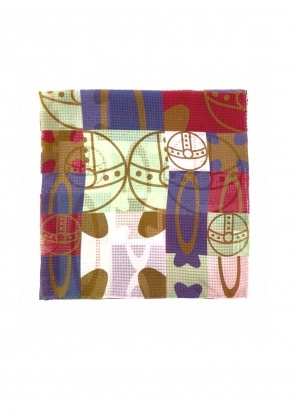 Vivienne Westwood Accessories Pocket Square 70 x 70 - Spearmint