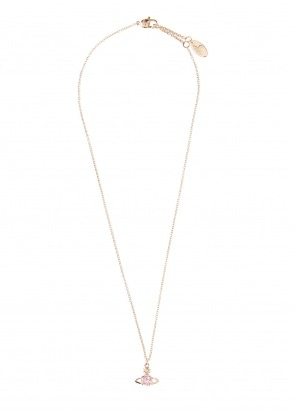 Vivienne Westwood Accessories Reina Pendant - Pink Gold