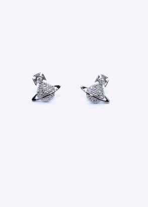 Vivienne Westwood Accessories Tamia Earrings - Rhodium