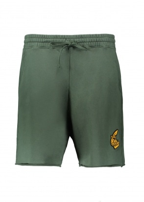 Vivienne Westwood Mens Anglomania Action Man Shorts - Green