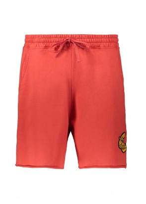 Vivienne Westwood Mens Anglomania Action Man Shorts - Red