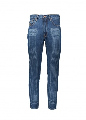 Vivienne Westwood Womens New Harris Jeans - Blue