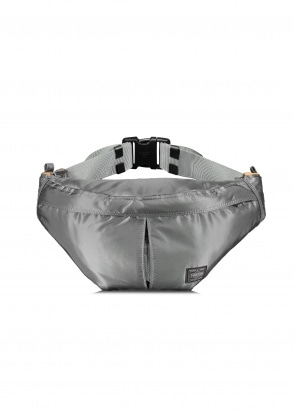 Porter-Yoshida & Co Waist Bag Large - Silver Grey