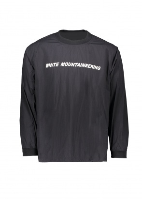 White Mountaineering  Logo Printed Raglan Pullover - Black
