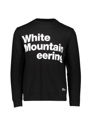 White Mountaineering  Logo Printed Sweatshirt - Black