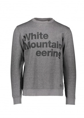White Mountaineering  Logo Printed Sweatshirt - Charcoal