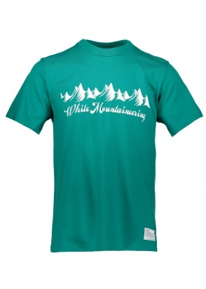 White Mountaineering  Mountain Range Tee - Green