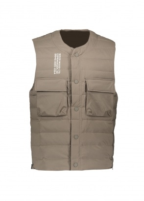 Wood Wood Kelvin Light Padded Vest -Moss