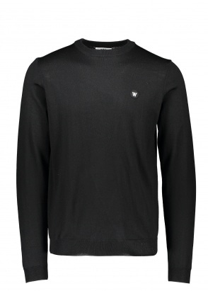 Wood Wood Kip Crewneck - Black