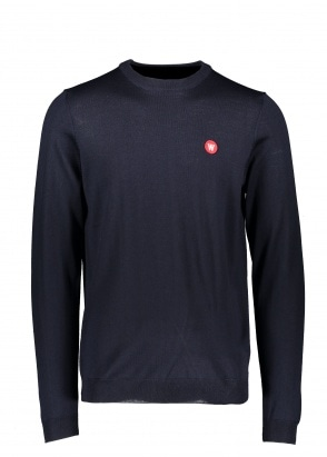 Wood Wood Kip Crewneck - Navy