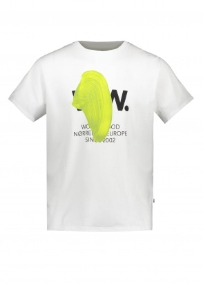 Wood Wood WW Blob Tee - Bright White