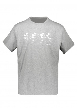 Wood Wood x Disney Bobo T-Shirt - Grey Melange