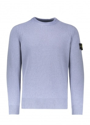 Stone Island Wool Jumper - Aviation Blue