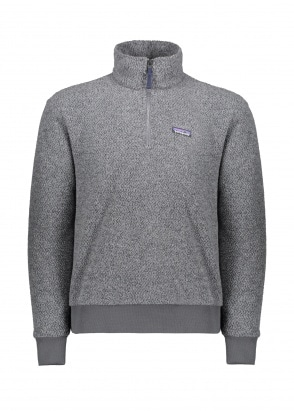 Patagonia Woolyester Fleece P/O Forge Grey