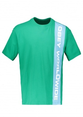 Obey Worldwide Classic Tee SS - Green