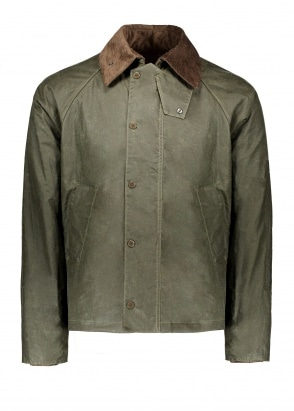 Barbour x Engineered Garments Graham Wax - Archive Olive