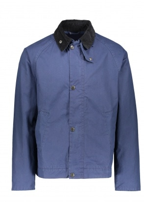Barbour x Engineered Garments Short Bedale Casual - French Navy