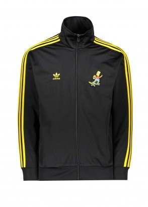 adidas Originals Apparel x Simpsons Firebird Track Top - Black