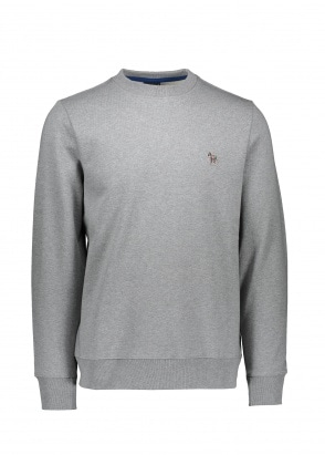 Paul Smith Zebra Logo Sweatshirt - Grey Melange