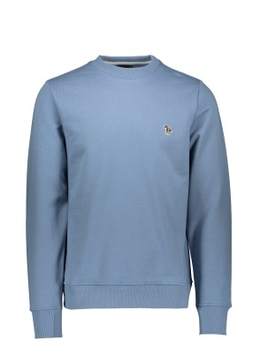 Paul Smith Zebra Logo Sweatshirt - Light Blue