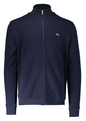 Lacoste Zip Stand Up Collar Jacket - Navy